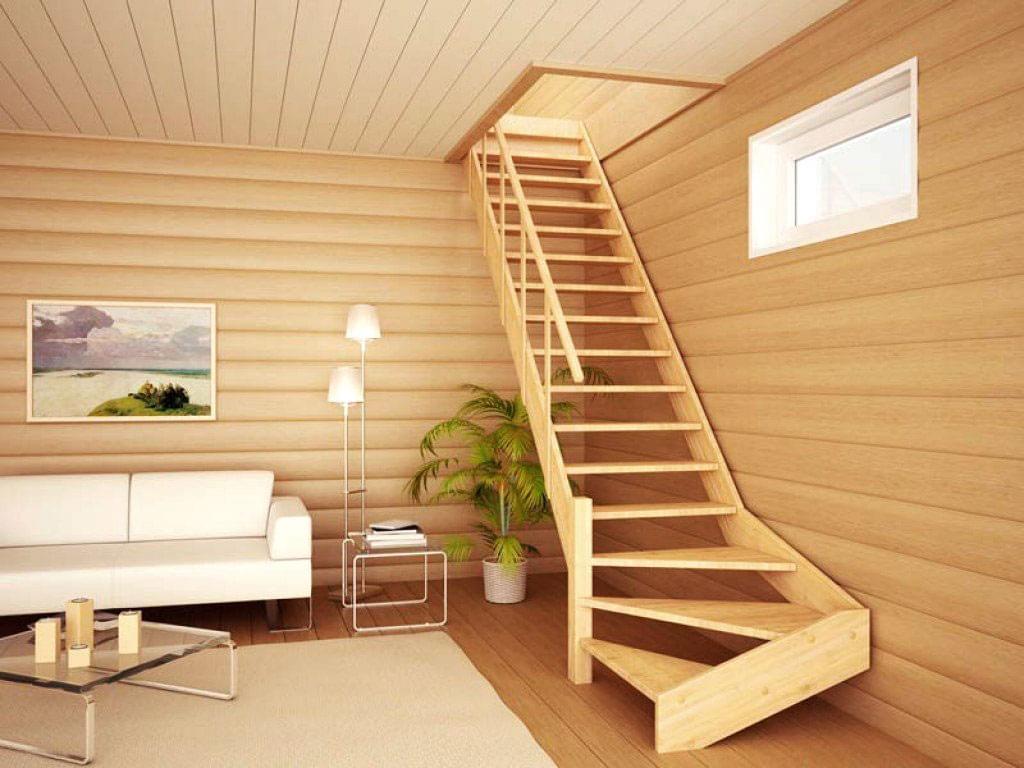 Лестница (ступени, тетива, перила, балясины)