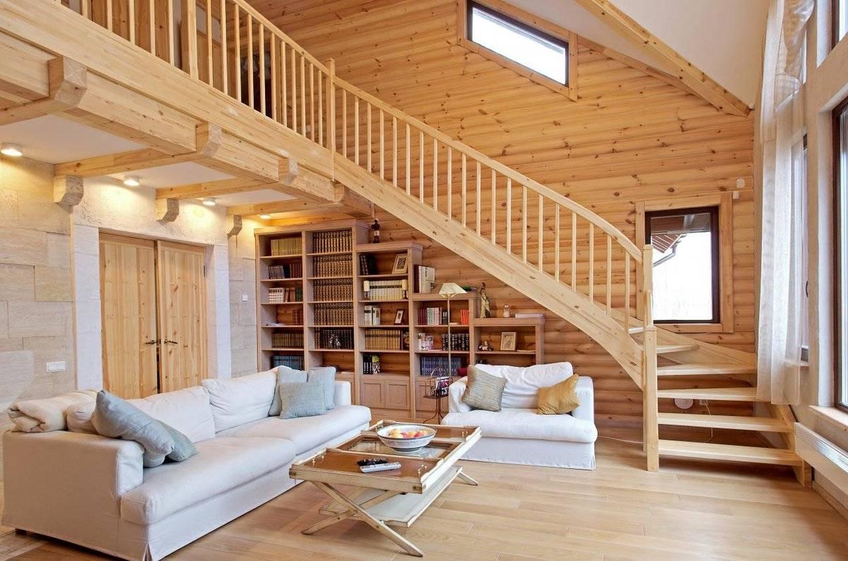 Отделка деревянных домов от компании Домрусстрой
