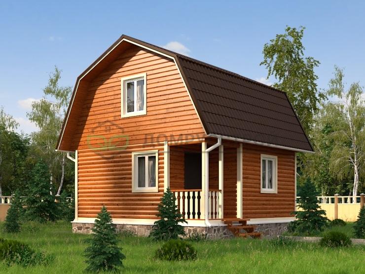Дом из бруса Д2 6x6