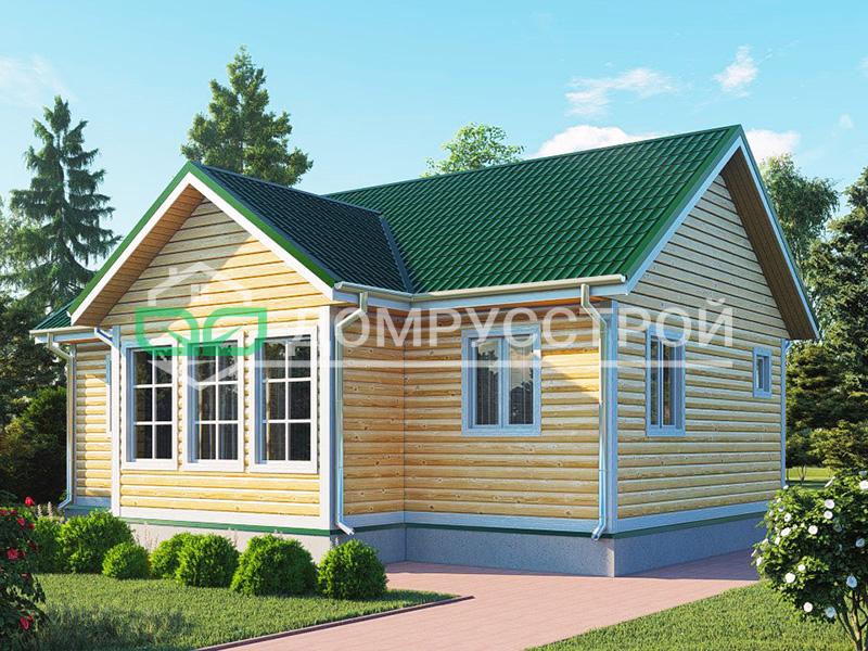 Дом из бруса Д101 7x10