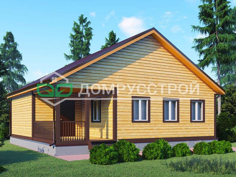 Дом из бруса Д102 10x10
