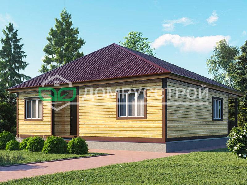 Дом из бруса Д103 10x10