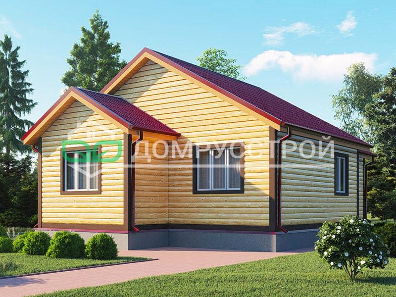 Дом из бруса Д104 11x8