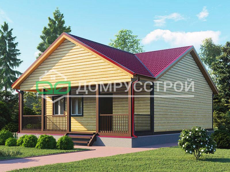 Каркасный дом Д105 11x8