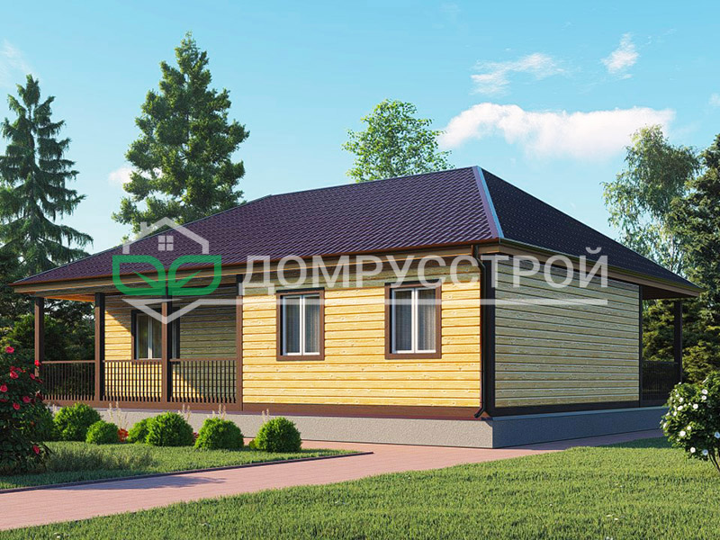 Каркасный дом Д106 12x10