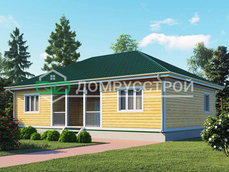 Дом из бруса Д109 12x8