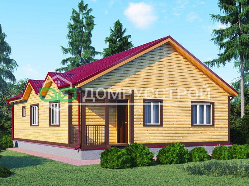 Каркасный дом Д110 12x9