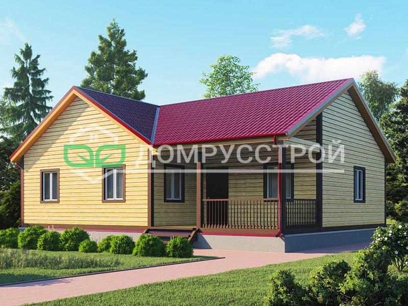Каркасный дом Д111 12x9