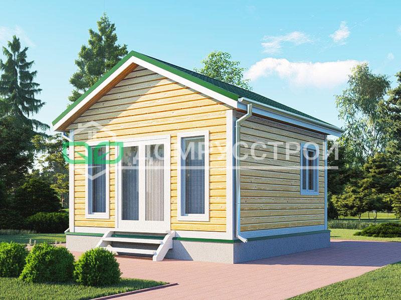 Каркасный дом Д112 5x5