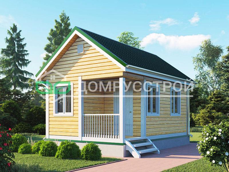 Дом из бруса Д113 6x4