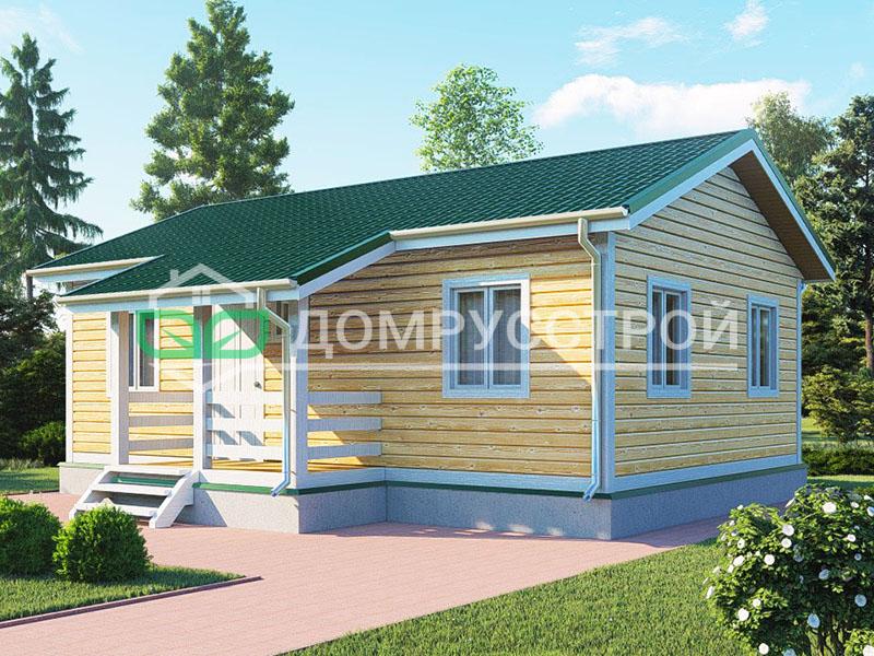 Каркасный дом Д114 9x6