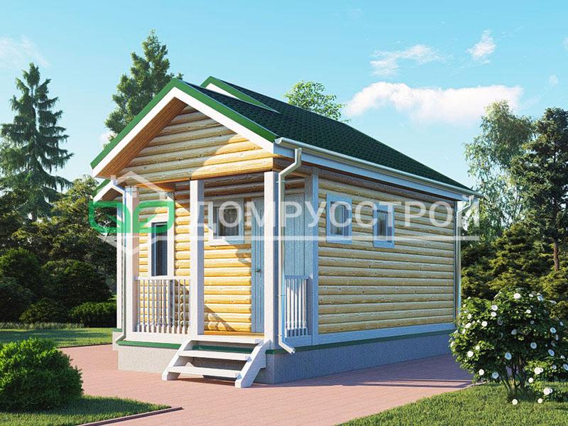 Дом из бруса Д115 6x6
