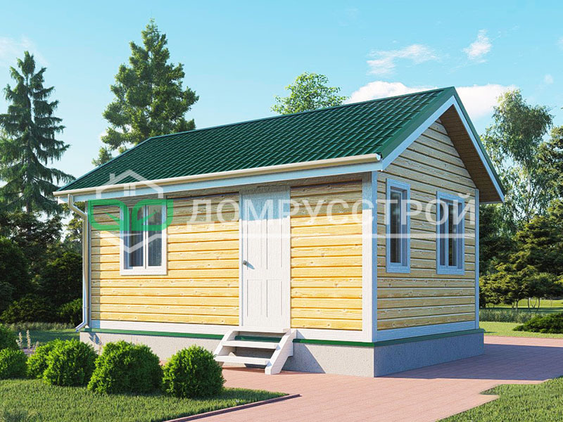 Каркасный дом Д116 6x4