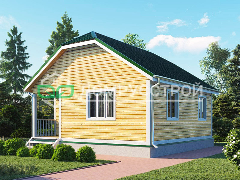Каркасный дом Д118 7x7
