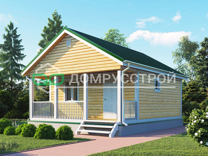 Каркасный дом Д119 6x7