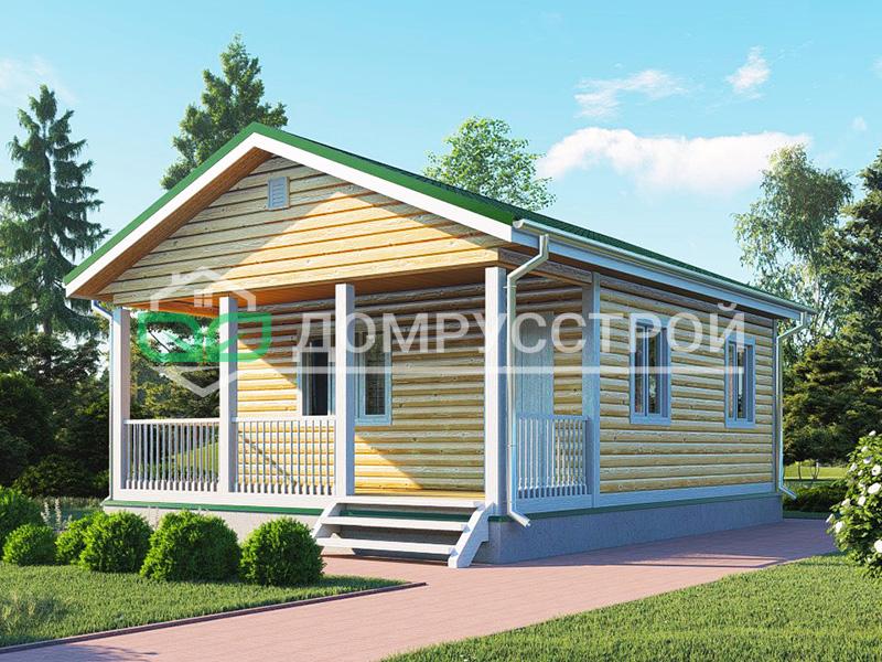 Дом из бруса Д120 6x8