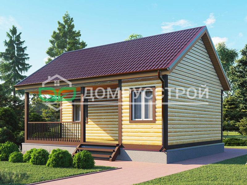Каркасный дом Д125 8x6