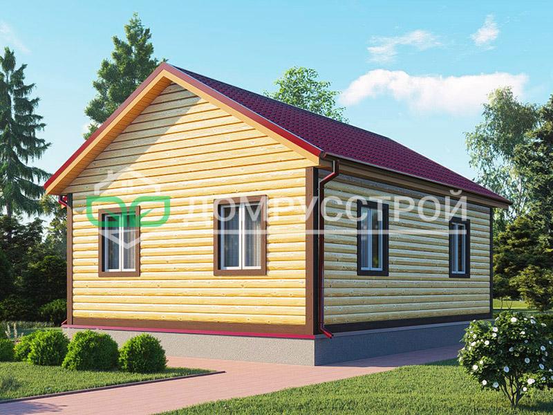 Каркасный дом Д126 8x8