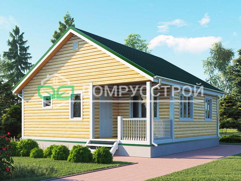 Дом из бруса Д127 8x8