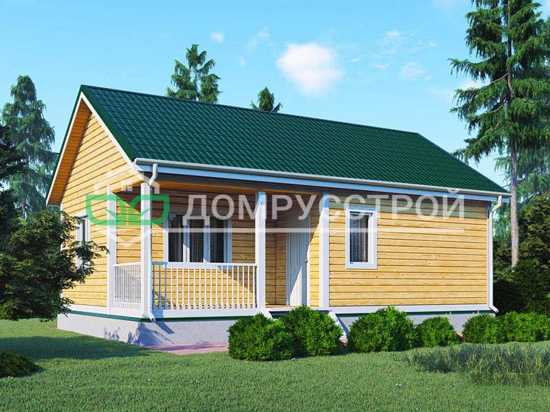 Дом из бруса Д130 9x6