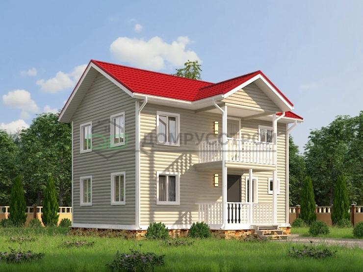 Каркасный дом Д10 9x8