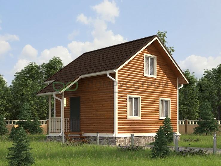 Каркасный дом Д17 7,5х6