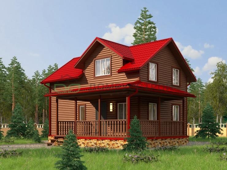 Каркасный дом Д23 10,5х9
