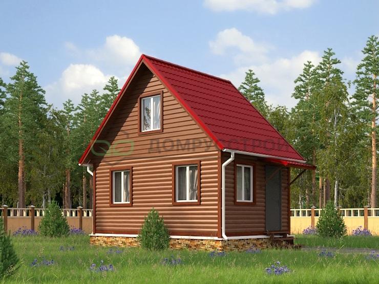 Дом из бруса Д25 6x4