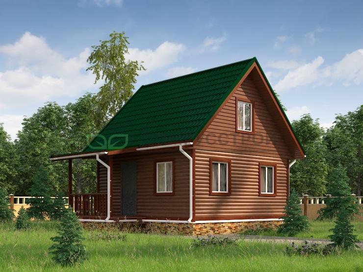 Каркасный дом Д8 7.5х6
