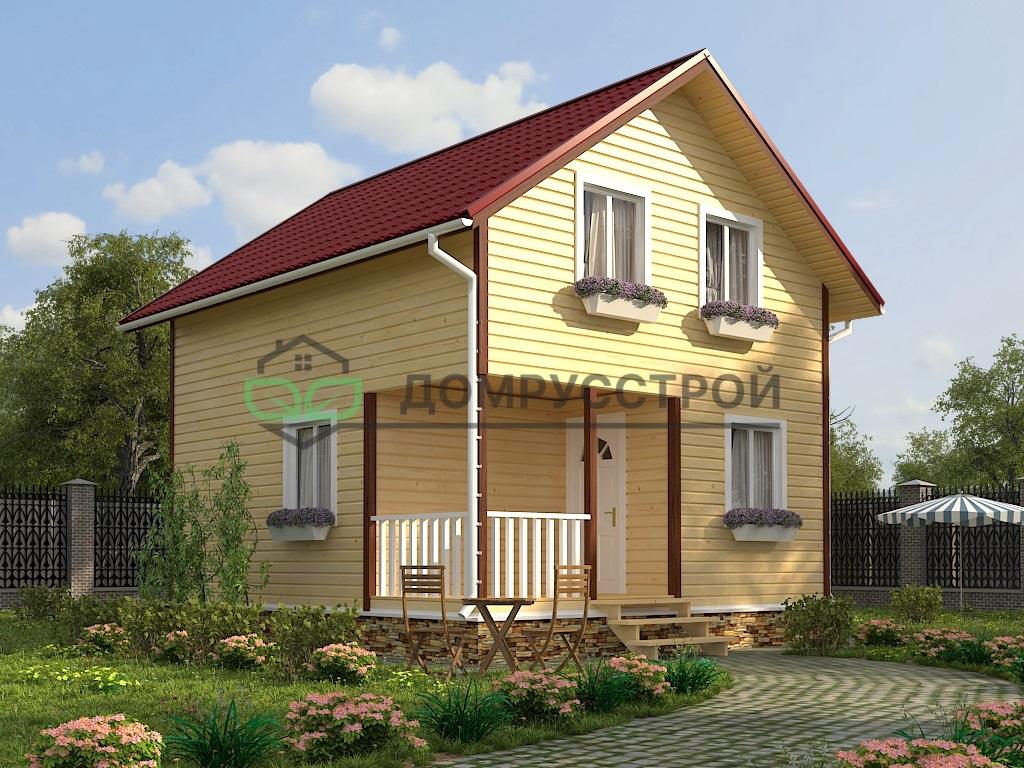Дом из бруса Д24 6x7