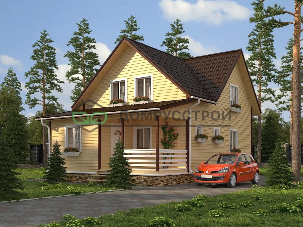 Каркасный дом Д35 7х10