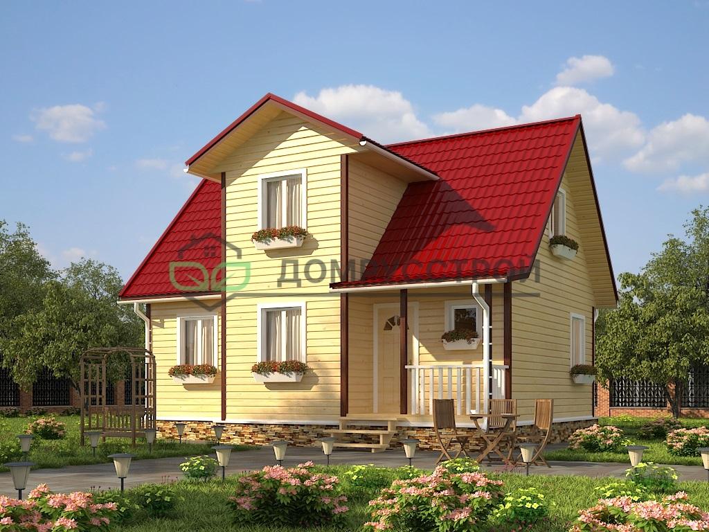Каркасный дом Д27 9х7,5