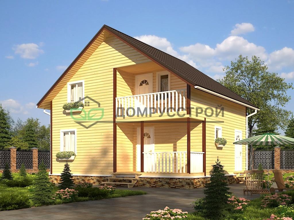 Каркасный дом Д34 7х9