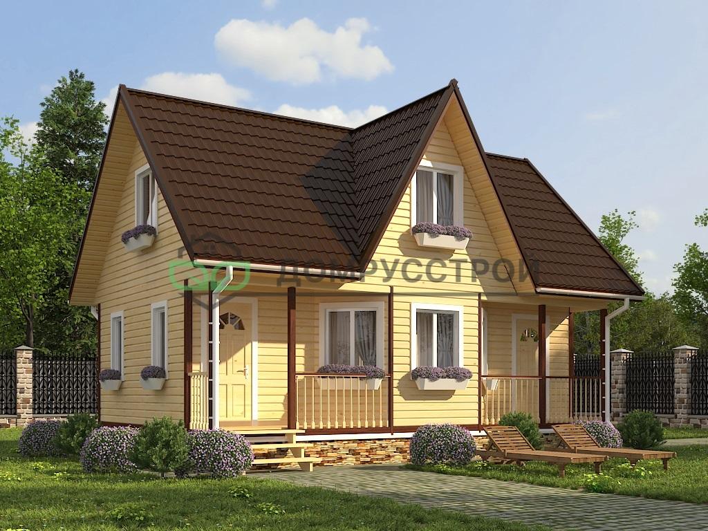 Каркасный дом Д22 6х9