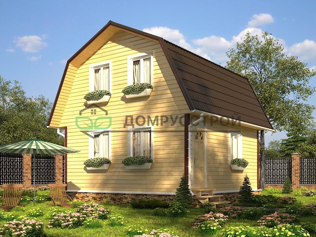Каркасный дом Д13 6x6