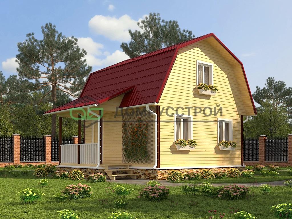 Каркасный дом Д11 6x6