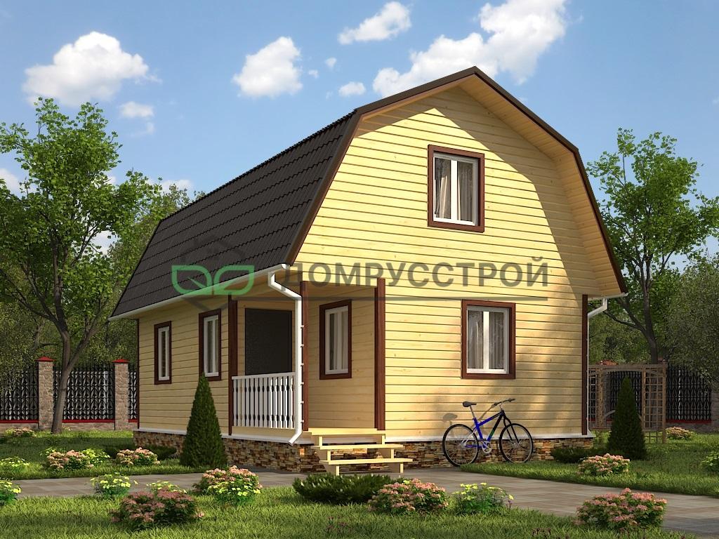 Каркасный дом Д42 6х9