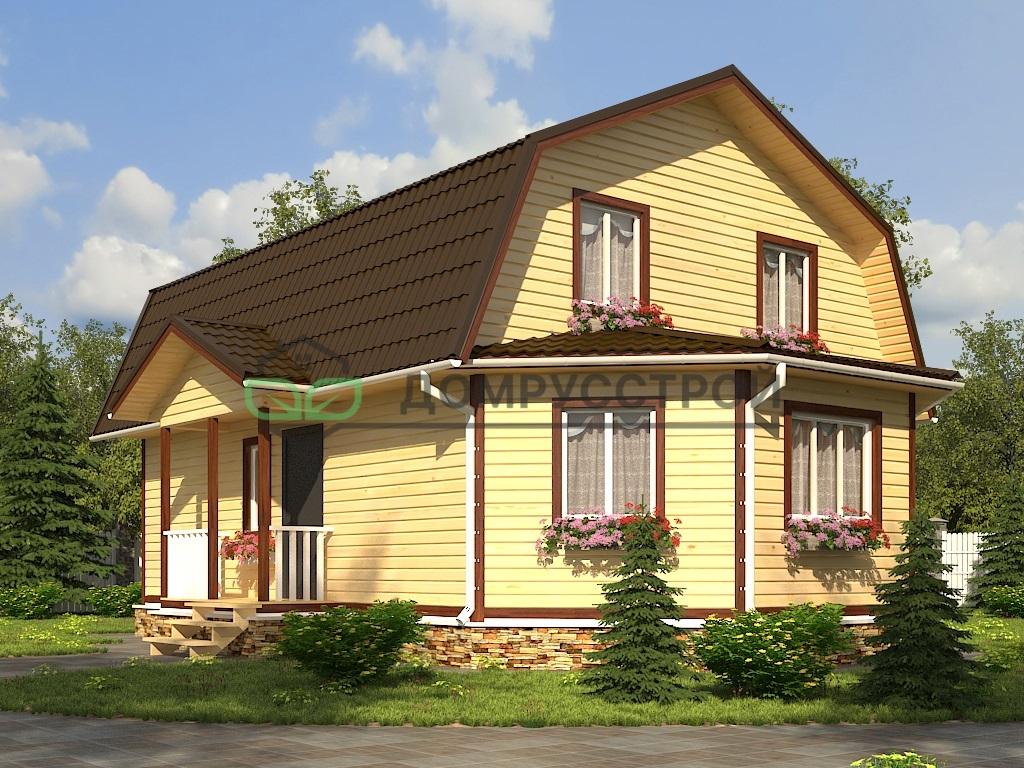 Дом из бруса Д43 7х11