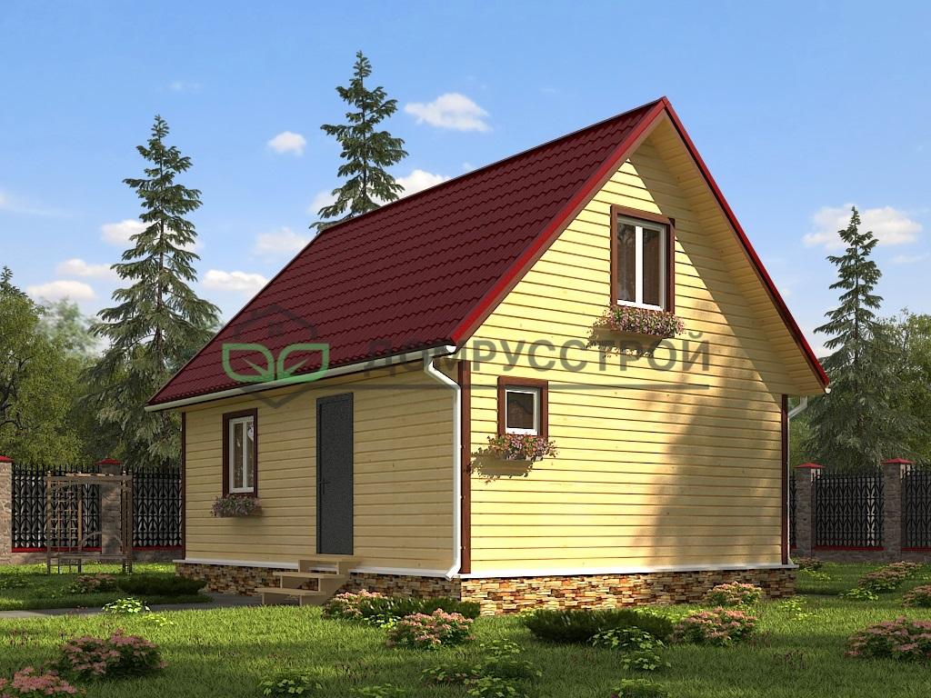 Каркасный дом Д48 6х8