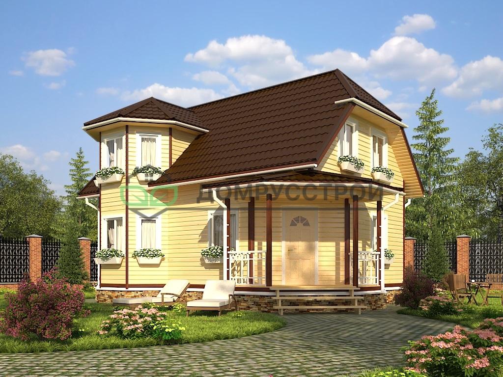 Дом из бруса Д36 7x10