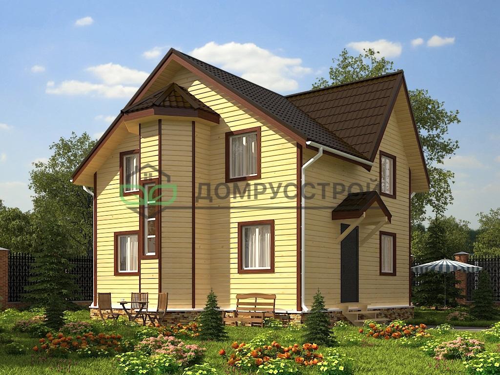 Каркасный дом Д45 7х8