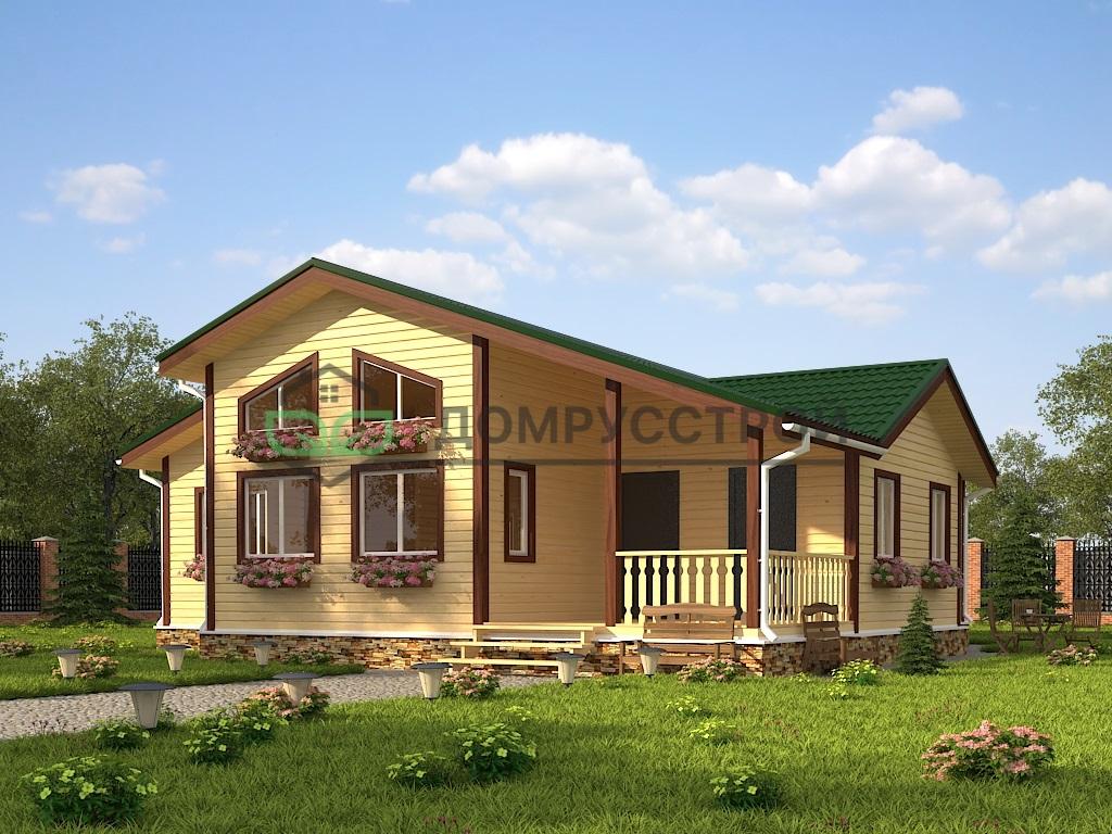 Каркасный дом Д46 12х13