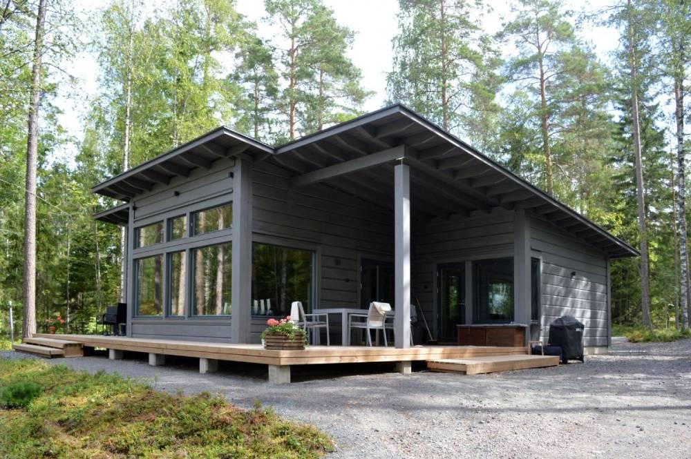 Строительство зимних каркасных домов